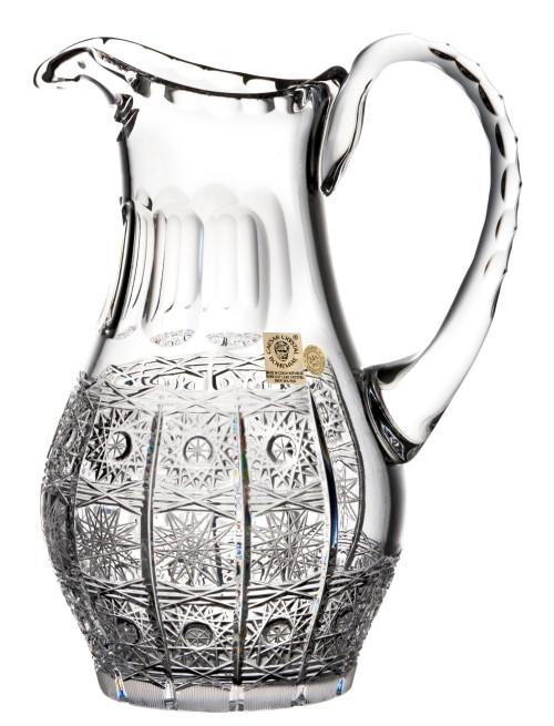 Brocca 500PK, cristallo trasparente, volume 900 ml