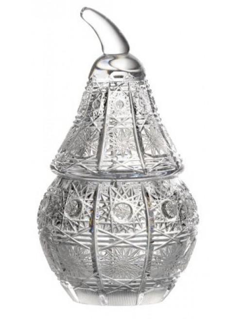 Confettiera 500PK, cristallo trasparente, altezza 140 mm