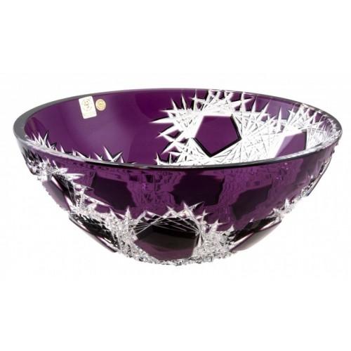Insalatiera Frost, cristallo, colore viola, diametro 280 mm
