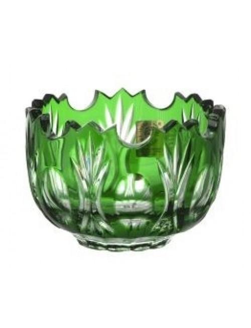 Ciotola Dandelion, cristallo, colore verde, diametro 95 mm