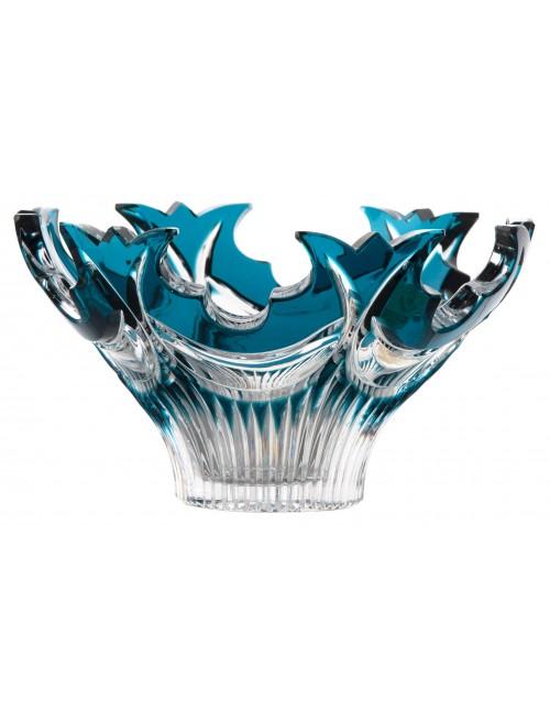 Insalatiera Diadem, cristallo, colore azzurro, diametro 165 mm