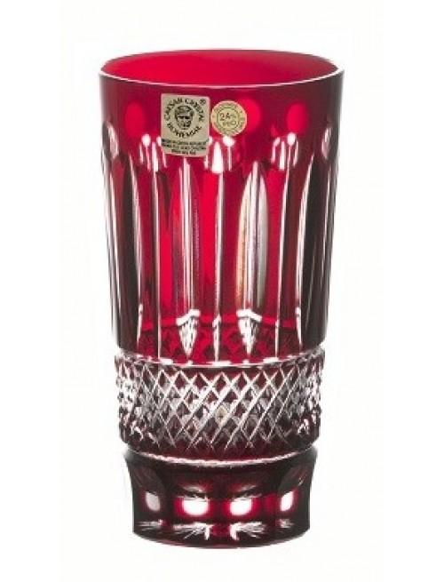 Bicchiere Grapes, cristallo, colore rosso, volume 320 ml