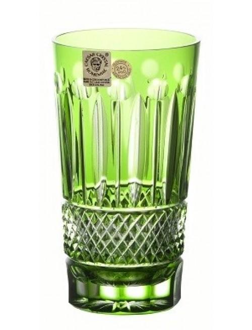 Bicchiere Tomy, cristallo, colore verde, volume 320 ml