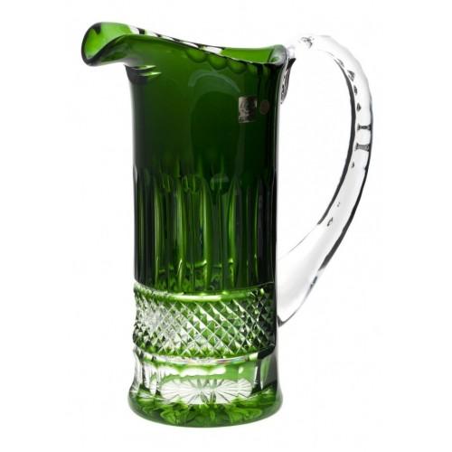 Brocca Tomy, cristallo, coloreverde, volume 1200 ml