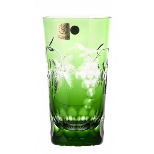 Bicchiere Grapes, cristallo, colore verde, volume 320 ml
