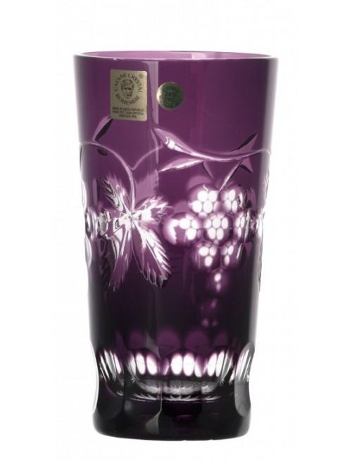Bicchiere Grapes, cristallo, colore viola, volume 320 ml