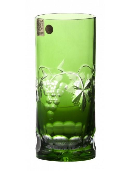 Bicchiere Grapes, cristallo, colore verde, volume 350 ml