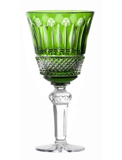 Bicchiere Tomy, cristallo, colore verde, volume 240 ml