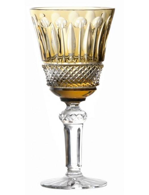 Bicchiere Tomy, cristallo, colore ambra, volume 240 ml