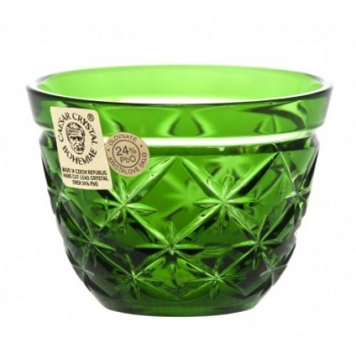 Bicchierino Charles, cristallo, colore verde, volume 65 ml