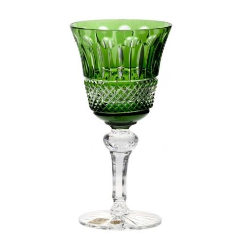 Bicchiere Tomy, cristallo, colore verde, volume 180 ml