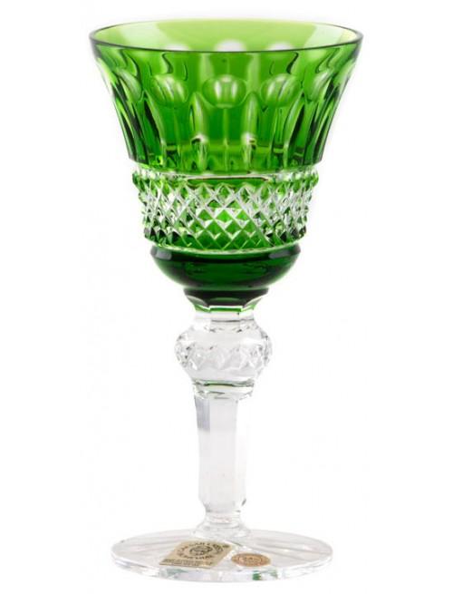Bicchiere Tomy, cristallo, colore verde, volume 50 ml