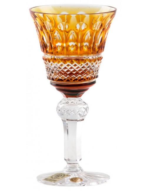 Bicchiere Tomy, cristallo, colore ambra, volume 50 ml