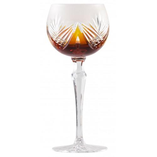 Bicchiere Janette, cristallo, colore ambra, volume 190 ml