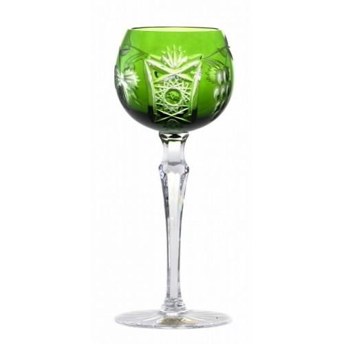 Bicchiere Nacht vine, cristallo, colore verde, volume 170 ml