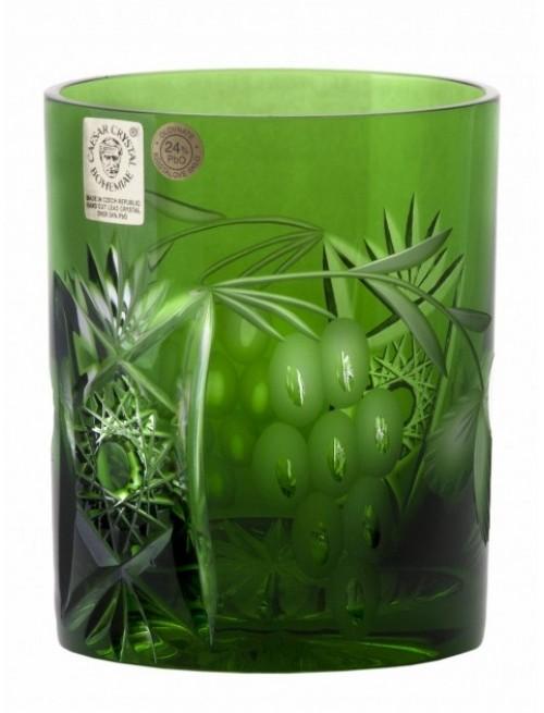 Bicchiere Nacht vine, cristallo, colore verde, volume 320 ml