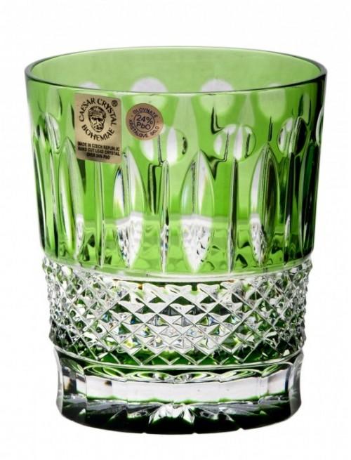Bicchiere Tomy, cristallo, colore verde, volume 290 ml