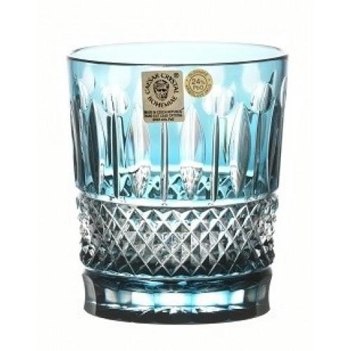 Bicchiere Tomy, cristallo, colore azzurro, volume 290 ml