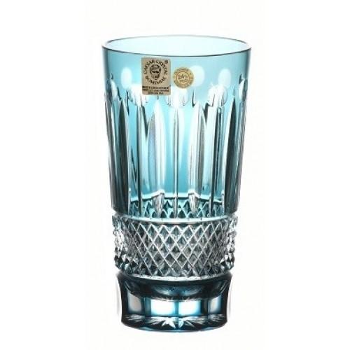 Bicchiere Tomy, cristallo, colore azzurro, volume 320 ml