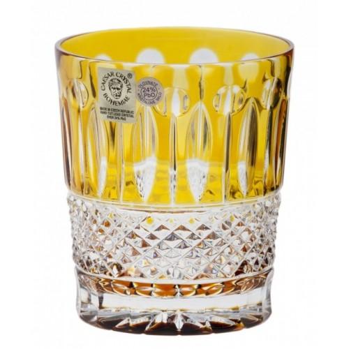 Bicchiere Tomy, cristallo, colore ambra, volume 290 ml