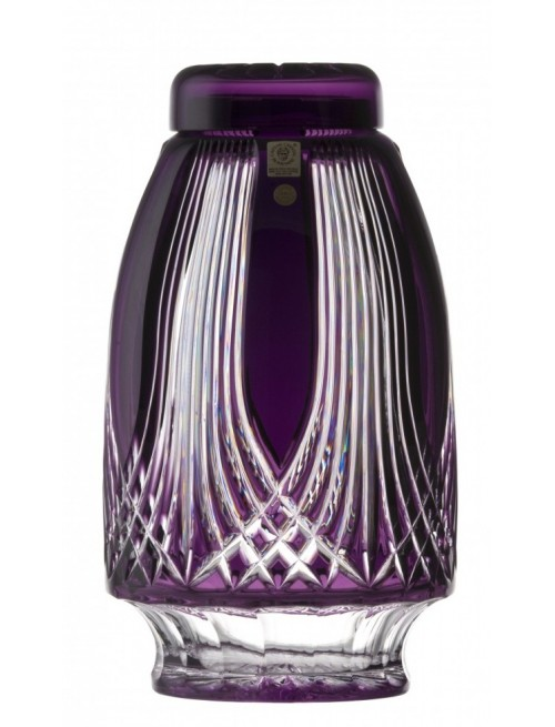 Urna Gotik, cristallo, colore viola, altezza 280 mm