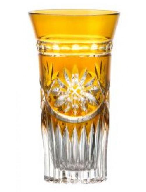 Bicchiere Lili, cristallo, colore ambra, volume 120 ml