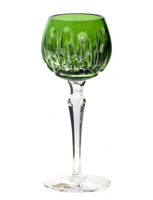 Bicchiere Heyday, cristallo, colore verde, volume 170 ml