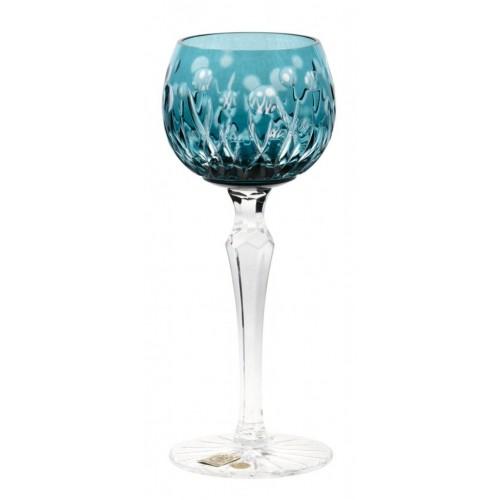 Bicchiere Heyday, cristallo, colore azzurro, volume 170 ml