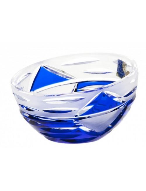 Insalatiera Mirage, cristallo, colore blu, diametro 230 mm