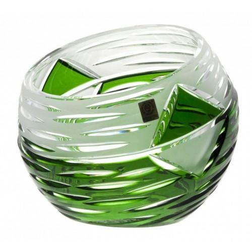 Vaso Mirage, cristallo, colore verde, altezza 200 mm