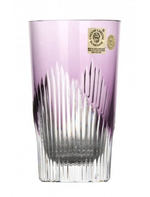Bicchiere Mikado, cristallo, colore viola, volume 240 ml