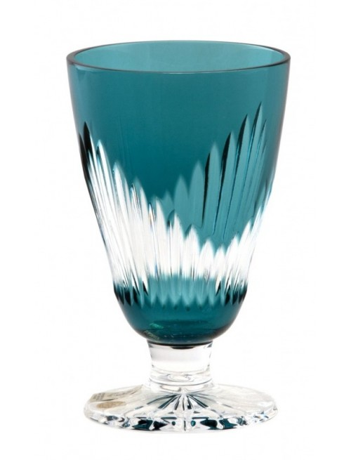 Bicchiere Mikado, cristallo, colore azzurro, volume 200 ml