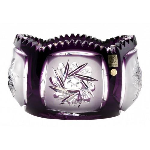 Insalatiera Mill flatness, cristallo, colore viola, diametro 205 mm