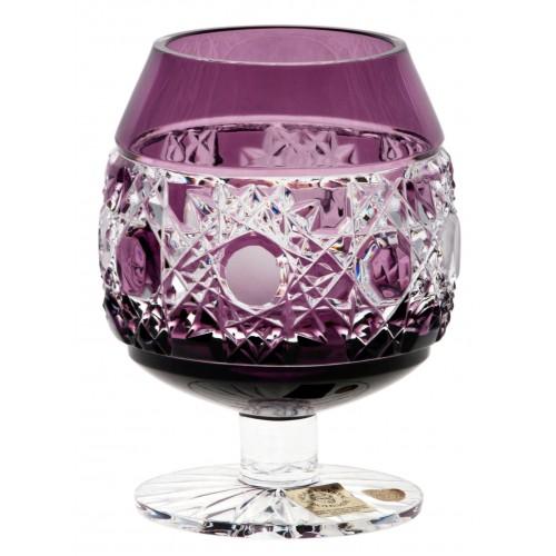 Bicchiere Brandy Flake, cristallo, colore viola, volume 230 ml