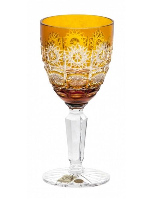 Bicchiere Paula, cristallo, colore ambra, volume 150 ml