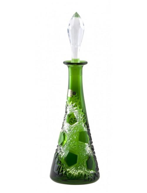Bottiglia Frost, cristallo, colore verde, volume 750 ml