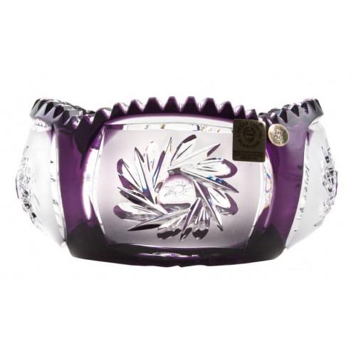 Insalatiera Mill flatness, cristallo, colore viola, diametro 155 mm