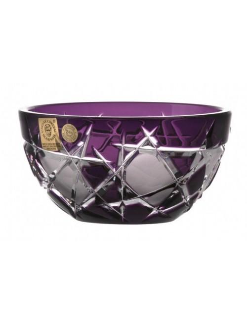 Citola Mars I, cristallo, colore viola, diametro 116 mm