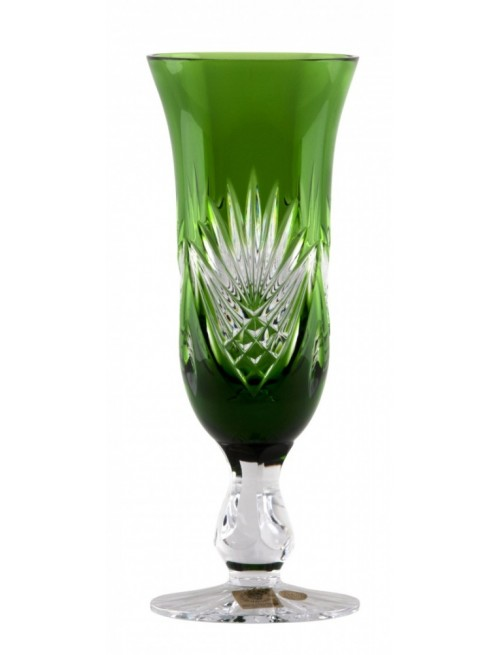 Bicchiere Janett, cristallo, colore verde, volume 150 ml