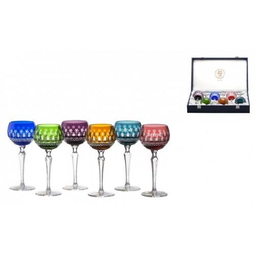 Set Bicchieri Tomy 190 LUX, cristallo, multicolore, volume 190 ml