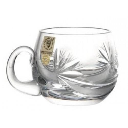 Tazza Fiocchi, cristallo trasparente, volume 160 ml