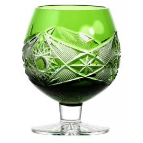 Bicchiere Brandy Nordika, cristallo, colore verde, volume 230 ml