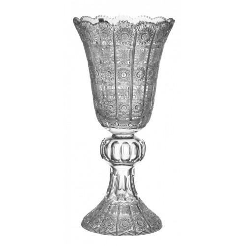 Vaso 500PK, cristallo trasparente, altezza 430 mm