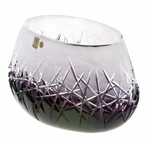 Insalatiera Hoarfrost, cristallo, colore viola, diametro 255 mm