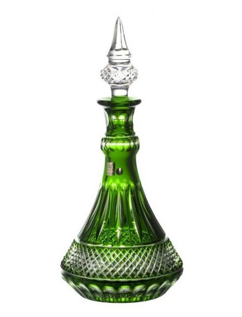 Bottiglia Tomy, cristallo, colore verde, volume 1300 ml