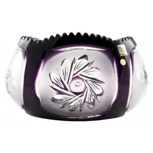 Insalatiera Mill flatness, cristallo, colore viola, diametro 255 mm