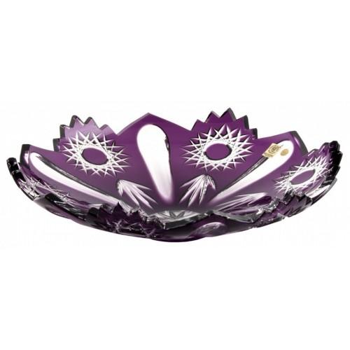Insalatiera Sweet, cristallo, colore viola, diametro 340 mm