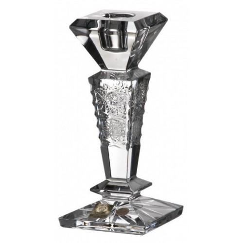 Portacandela 500PK, cristallo trasparente, altezza 155 mm