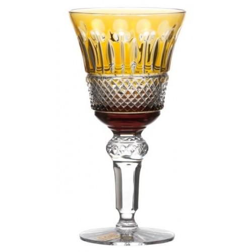 Bicchiere Tomy, cristallo, colore ambra, volume 180 ml