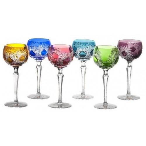 Set Bicchieri Frost 190, cristallo, multicolore, volume 190 ml